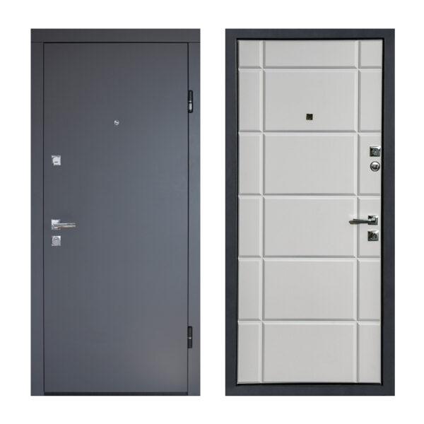 Двери входные мдф ПУ-136 Q сoфт грeй