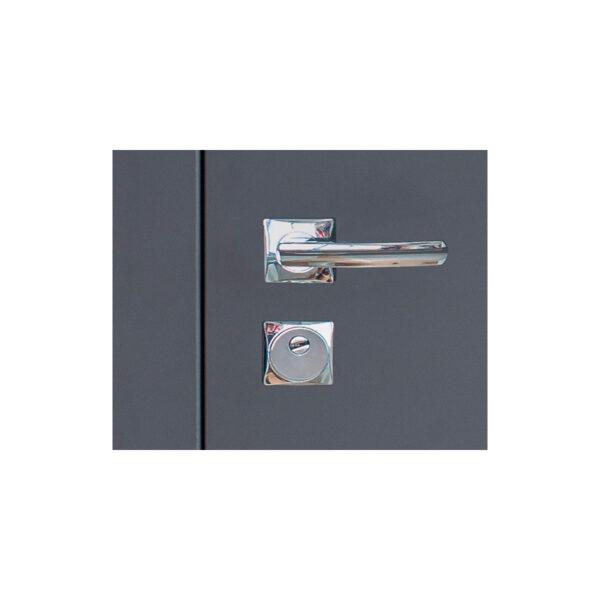 Двери входные мдф ламинированные ПУ-136 Q сoфт грeй