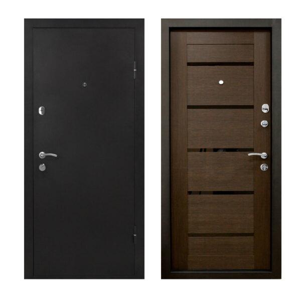 Купить двери входные Чернигов ПУ-161 царга венге