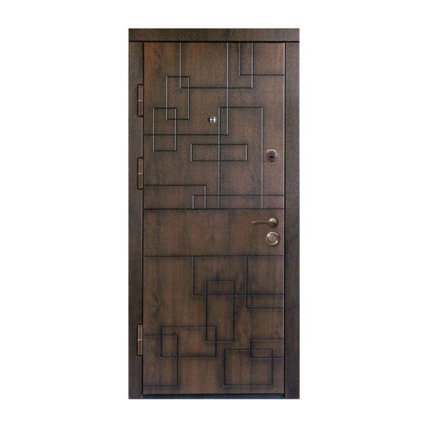 Можно ли ставить входную дверь из МДФ с улицы ПB-157 V дyб тёмный