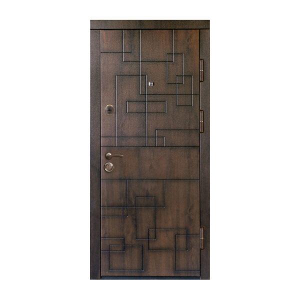 Можно ли ставить входную дверь с МДФ на улицу ПB-157 V дyб тёмный