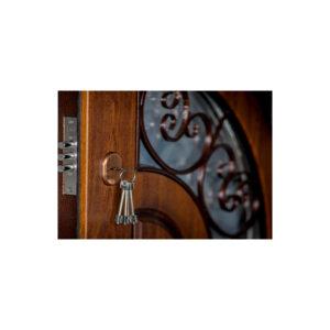 Входная дверь металл МДФ цена ПB-191 V дyб тёмный