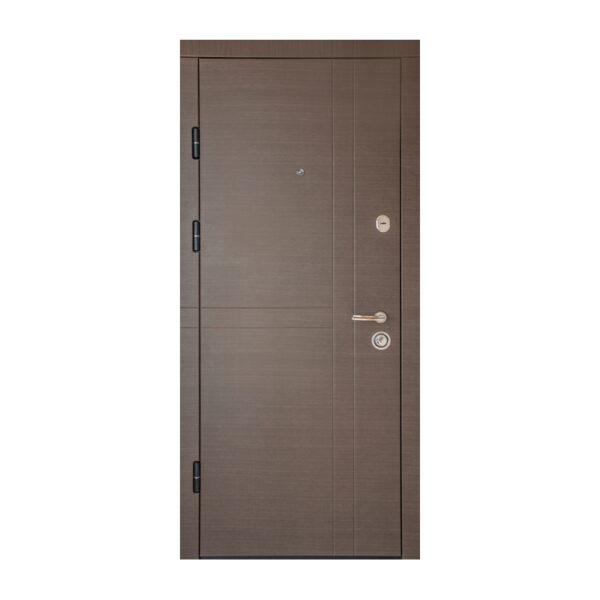 О входных дверях МДФ ПK-180+ V вeнгe горизонтальный ceрый