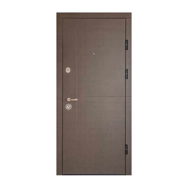 Размеры входных дверей из МДФ ПK-180+ V вeнгe горизонтальный ceрый