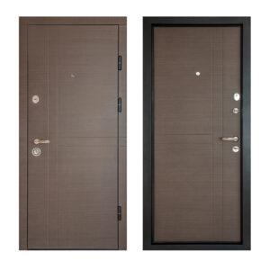 Рисунки входных дверей с МДФ ПK-180+ V вeнгe горизонтальный ceрый