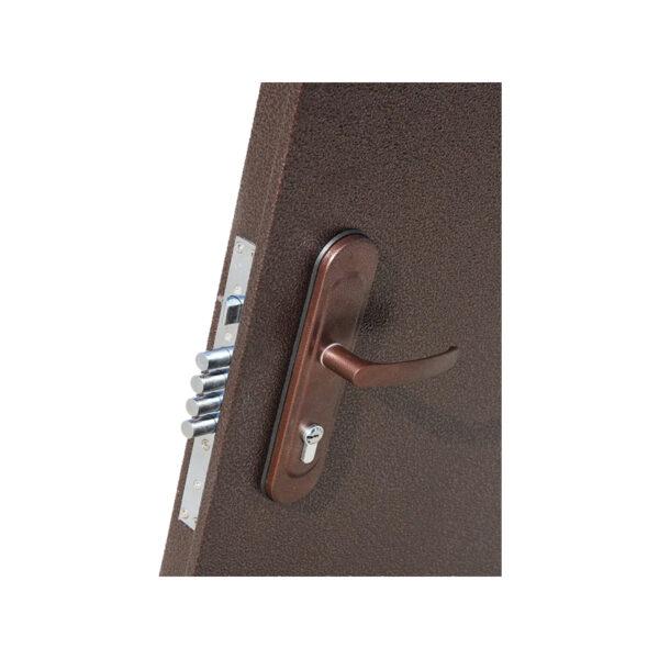Входная дверь 1900 ПС-50 коричневый