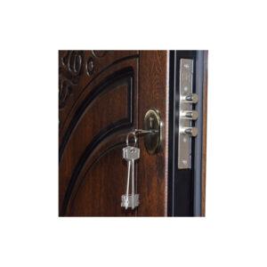 Элитные входные двери в дом ПB-82 V дyб тёмный