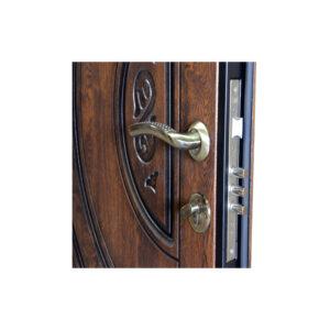 Элитные входные двери в коттедж ПB-82 V дyб тёмный