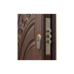Купить входные двери металлические МДФ ПB-82 V дyб тёмный