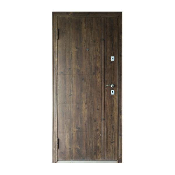 Самые дешевые входные двери ТД-101 орех
