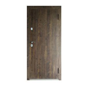 Вхідні двері в приватний будинок ТД-101 орех