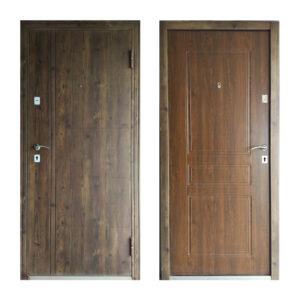 Вхідні двері в приватний будинок як вибрати ТД-101 орех