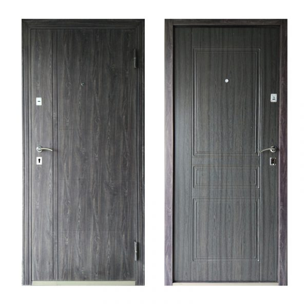 Входные двери эпицентр ТД-102 дуб серый