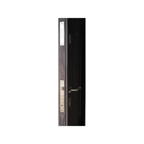 Входные металлические двери размеры ТД-102 дуб серый