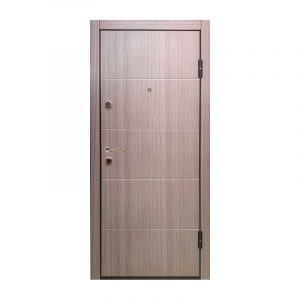 Двери входные шумоизолированные ТД-61 дуб серый