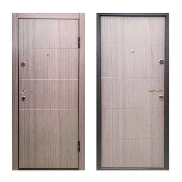 Двери входные эпицентр ТД-61 дуб серый