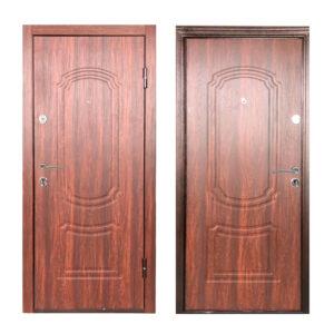 Дверь входная недорого ТД-62 дуб тёмный