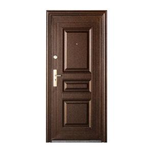 Двери входные недорого с установкой TP-C-68 коричневый