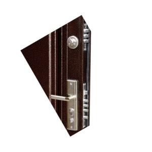Двери входные размеры TP-C-68 коричневый