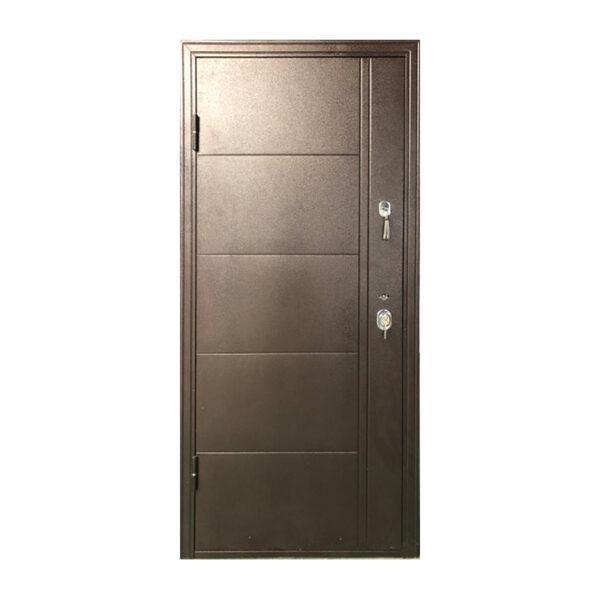 Дверь входная рейтинг Турин коричневый-орех