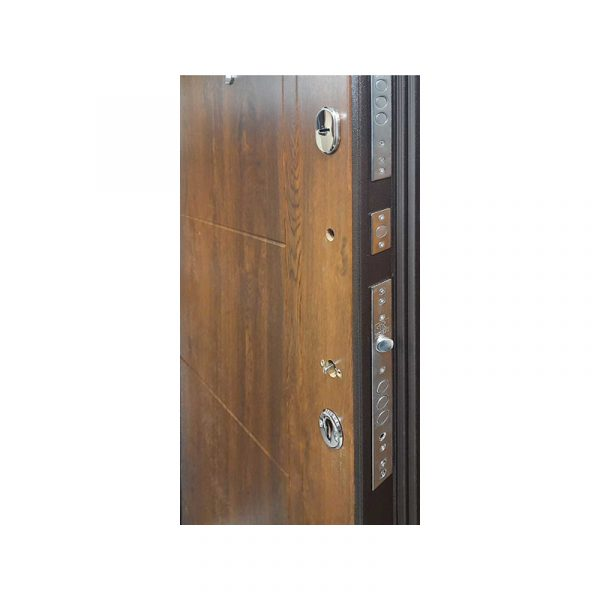 Дверь входная олх Турин коричневый-орех