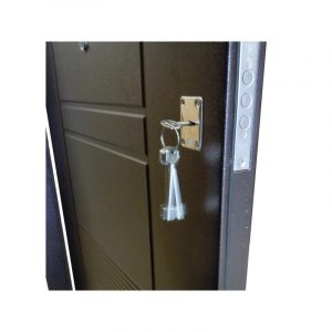Входные двери металлические цена УД-142 коричневый-орех