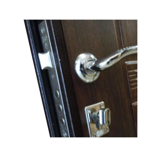 Входные двери цена фото УД-142 коричневый-орех