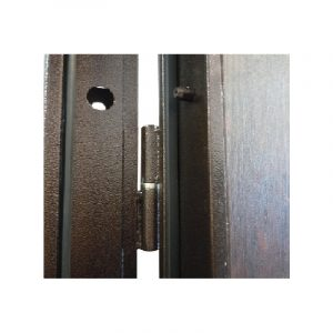 Двери входные на улицу УД-142 коричневый-орех