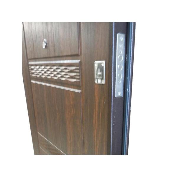 Двери входные наружные УД-142 коричневый-орех
