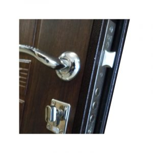 Двери входные пром УД-142 коричневый-орех
