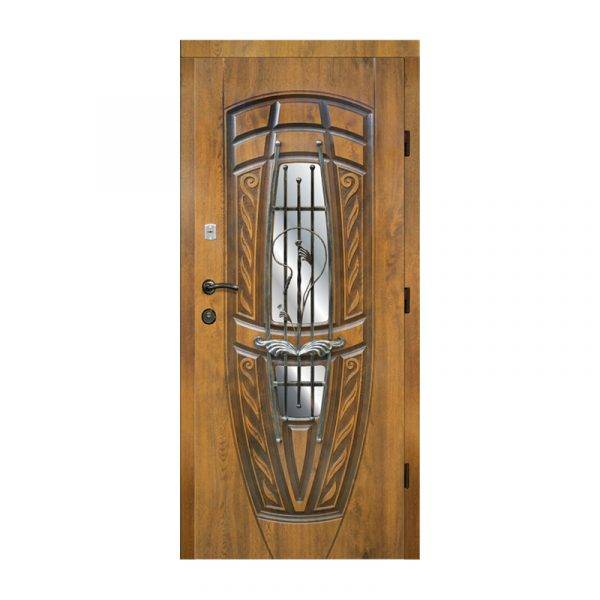 Входные двери для храма 203 №8 дуб золотой
