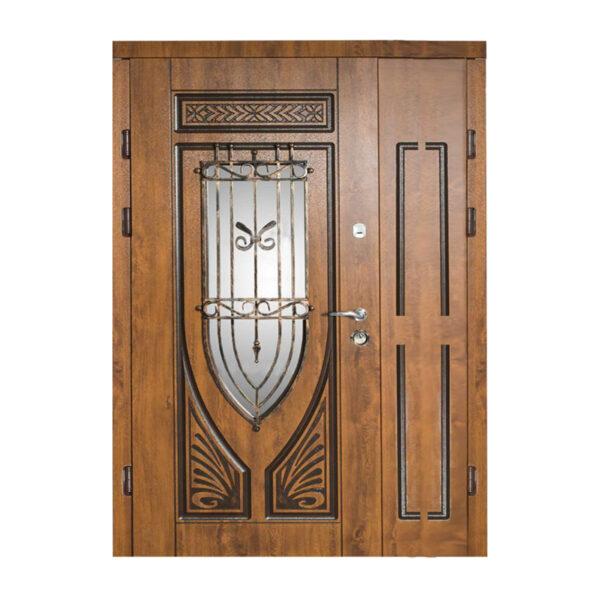 Двери входные 1200 228 №10 дуб золотой