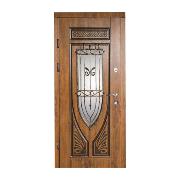 Двери входные 1400 228 №10 дуб золотой