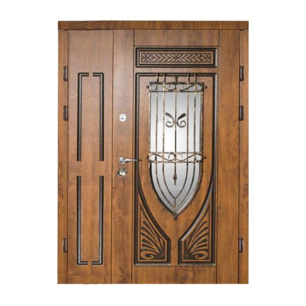 Двери входные 1200х2050 228 №10 дуб золотой