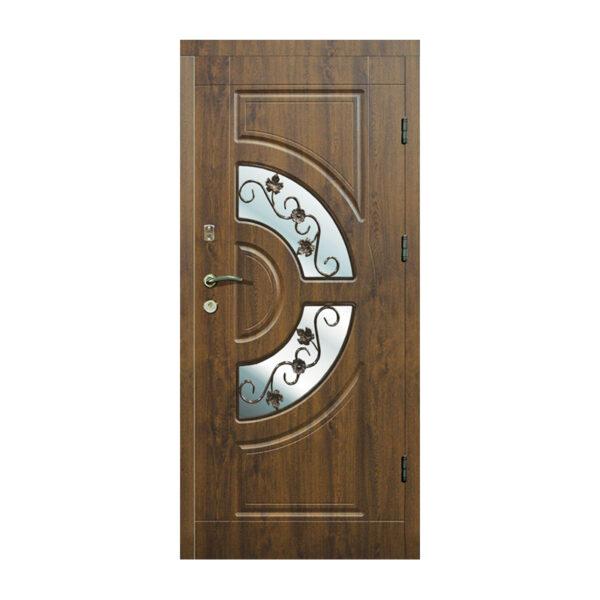 Купить входные двери в подъезд 304 №2 дуб золотой