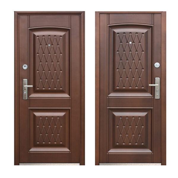 Купить двери входные в Запорожье K777-2 медь