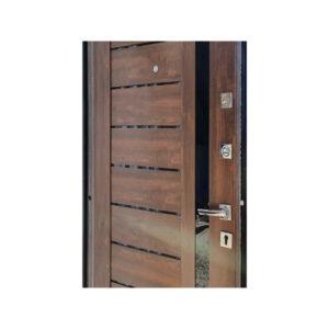 Дверь входная 700 M-810 светло-серый/орех