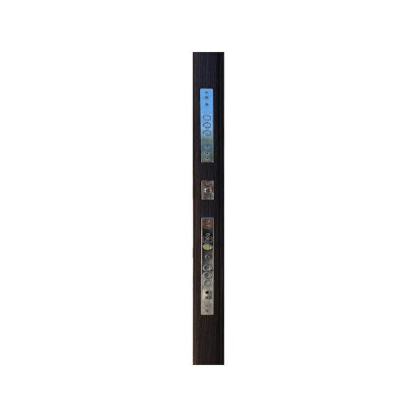 Дверь входная 760 M-810 светло-серый/орех