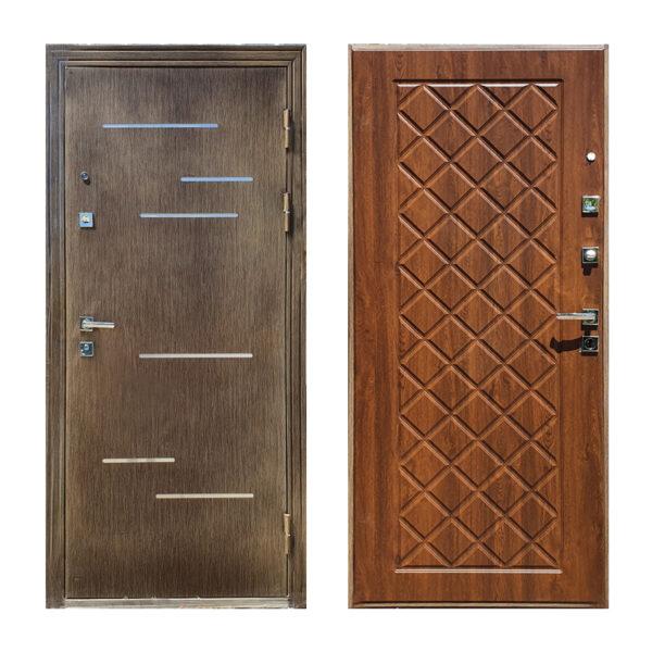 Дверь входная отзывы M-811 орех