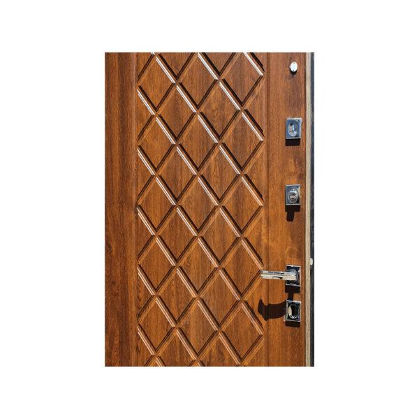 Дверь входная размер стандарт M-811 орех
