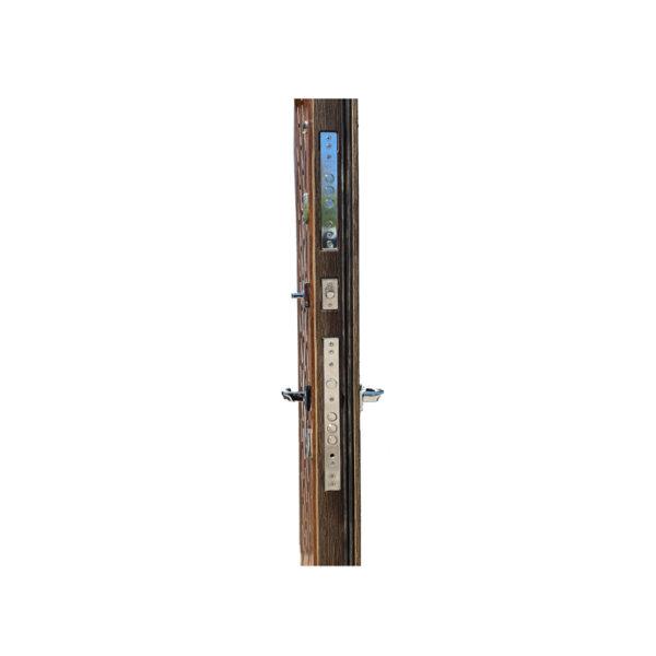 Дверь входная установка M-811 орех