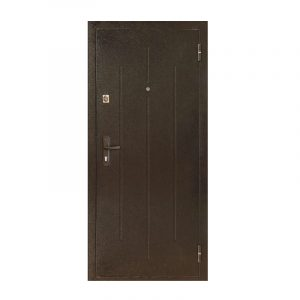 Двери входные бесплатная доставка ПС-70-М2 коричневый/орех
