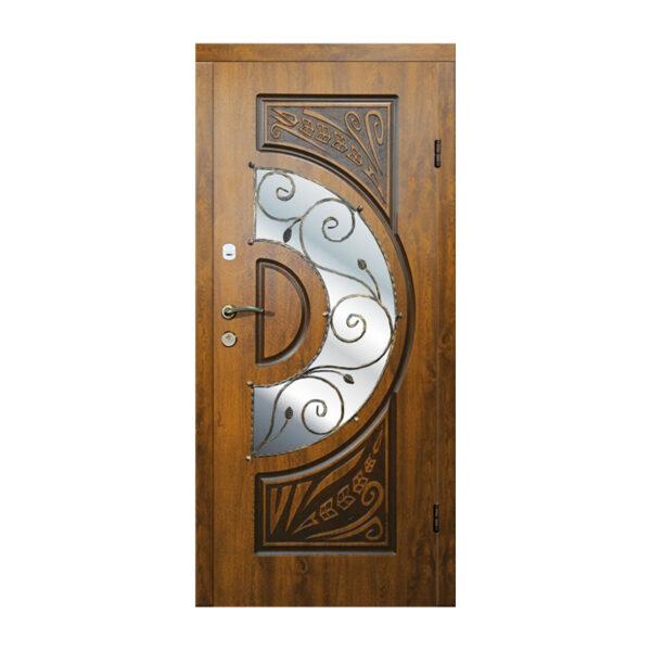 Входные двери арма 223 №4 дуб золотой