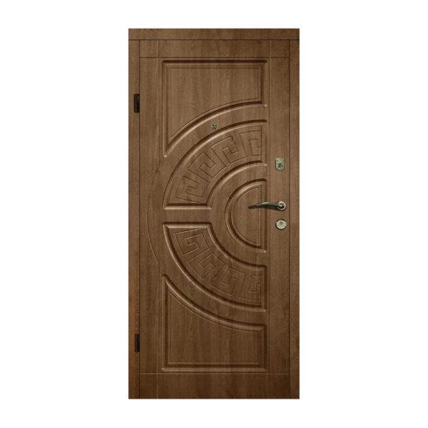 Входная дверь 80 на 200 304 дуб бронзовый