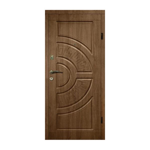 Входная дверь 85 см 304 дуб бронзовый