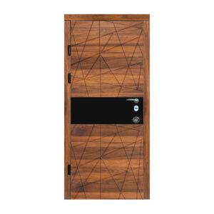Входные двери 760 604 дуб янтарный