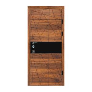 Входные двери 780 на 2000 604 дуб янтарный