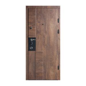 Входная дверь гарда 8 мм 615 спил дерева коньячный