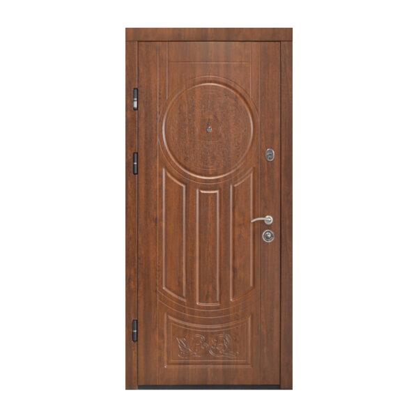 Входная дверь 110 см ПК-61+ дyб тёмный