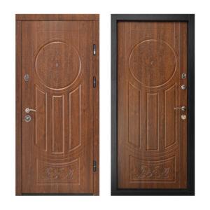 Входная дверь 2400 ПК-61+ дyб тёмный